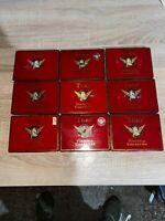 9 Vintage Virginia Turf Cigarette Tin Red Jubilee Edition