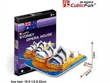 *NEW IN BOX* CubicFun - Sydney Opera House 3D Puzzle - 30 Pieces