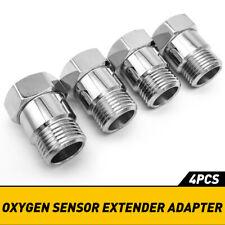 Car Oxygen O2 Sensor Cel Fix Check Engine Light Eliminator Adapter M18x15 Exc Fits 2002 Mitsubishi Eclipse