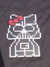 Perler Bead Wall Art - Hello Kitty Darth Vader