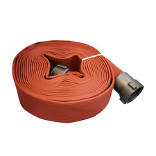 "Allenco 2-1/2"" x 50' Premium Rubber Coated Fire Hose"