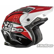 HEBO 2016 CASCO HELMET ZONE 4 LINK ROSSO RED MOTO TRIAL SCOOTER JET SIZE TG S