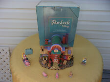 "Storybook Village ""The T.L Pigs Brick Factory"" Dept. 56 Retired In Box"