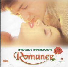 SHAZIA MANZOOR - ROMANCE - NEW SOUND TRACK CD
