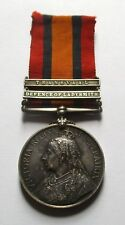 QSA - BOER WAR MEDAL  / SGT G REED / DEFENCE OF LADYSMITH & TRANSVAAL CLASPS.