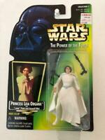Star Wars Power of the Force POTF2 1 .01 Princess Leia Organa Green Hologram
