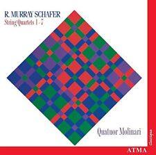 Quatuor Molinari - Schafer String Quartets No 17 [CD]