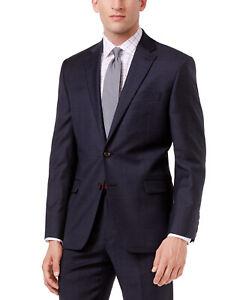 Lauren Ralph Lauren Men's Ultra Flex Suit Jacket Size 46 Long NWT Navy Blue 46L