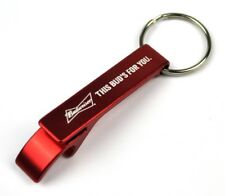 Budweiser Bud's for You Beer USA Bottle Opener Key Chain Opener