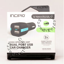 Incipio PW-176 4.8A Dual USB Car Charger High Speed Dual Port USB for Smartphone