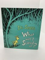 Vintage What was I Scared of by Dr. Seuss First Edition 1st Printing 1st/1st