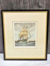Framed Print Greens Blackwall Frigate built 1847 Tall Ship
