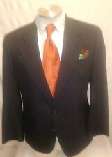 Mens JOS.A.BANK gray 2 button single vent glenn plaid suit sz 42S