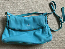 Kate Spade Cobble Hill Leather Aqua Handbag/crossbody Combo