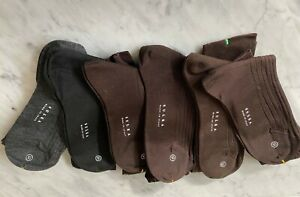 SULKA LOT OF 6 PAIRS NWT DRESS SOCKS MADE IN ITALY