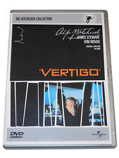 Alfred Hitchcock VERTIGO AUS DEM REICH DER TOTEN James Stewart Kim Novak DVD VG+