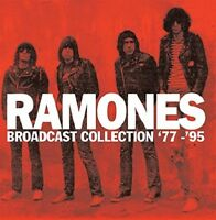 RAMONES - BROADCAST COLLECTION '77-'95    9 CD NEU