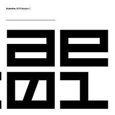 Autechre - NTS Session 1 (NEW 3 VINYL LP)