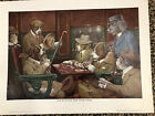 Poker Playing Dogs Posters