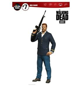 Mcfarlane Walking Dead TV Figura Color Tops Abraham
