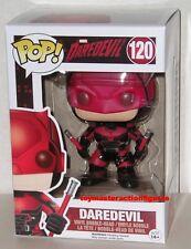 FUNKO POP TELEVISION DAREDEVIL DAREDEVIL RED SUIT #120 Vinyl Figure IN STOCK