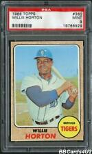 1968 Topps #360 WILLIE HORTON PSA 9 MINT Low Pop! Tigers