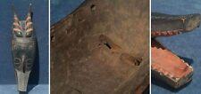 Zoomorphe Maske Elfenbeinküste / Guro (2. Hälfte 20. Jhd)