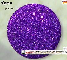 1pcs Auto KFZ Plakette f.Deckel Kappe Lenkrad uvm.>Glitzer Einzelstück by Amor*