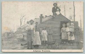 Arkansas~Travels Of The Old Days~Vintage Postcard