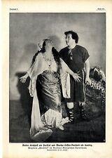 Walter Kirchhoff & Martha Leffler-Burckard * parsifall * immagine documento del 1914