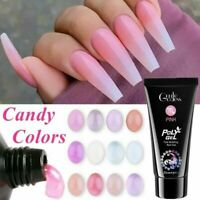POLY GEL 30g UV LED Quick Extension Builder POLYGEL Nail Gel  Polish Nail Art