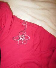LOLE Kiss Pink Tranquil Cardigan Zip Sweater Sweatshirt NWT Womens Size L Large