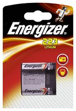Pile Energizer 223 6V EL223AP DL223A (use before 03/2020)
