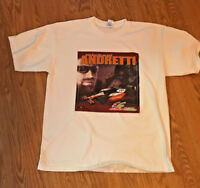 Michael Andretti  #1 G  racing Andretti Green Team one Sided T-Shirt Size XL