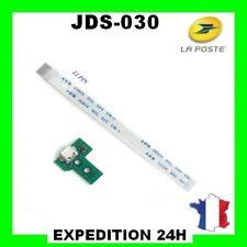 Connecteur de charge led usb manette PS4 12pin jds030 + nappe interne 12pin top