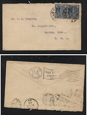 Victoria    cover  to   US   1905                         KEL10-20-4