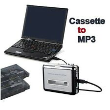 E006 Tape to PC Super USB Cassette-to-MP3 Converter Capture Audio Music Player