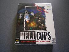 Helicops   Heli Cops   WIN 95       NIB    NEW     7th Level     Big Box