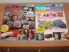 Strick Spezial-Pack 2 Hefte Alle Grundlagen + mehr als 50 Projekte August 2016