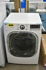 "Lg Dlex4370W 27"" White Front Load Electric Dryer Nob #30297 Hrt"