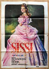 """orginal Plakat Poster """"Sissi"""" der erfolgreichste Kinofilm von Romy Schneider"""