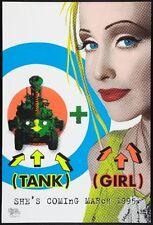 "Tank Girl Movie Poster Mini 11""X17"""