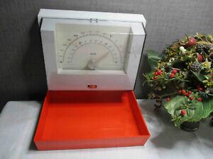 Krups Küchenwaage Wandwaage bis 3 kg orange weiss 70er Jahre Klassiker