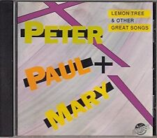 Peter Paul & Mary Lemon tree & other great songs (15 tracks, #un1026) [CD]