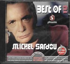 RARE CD 17 TITRES MICHEL SARDOU BEST OF PRESSAGE TUNISIE NEUF SCELLE PHONIC