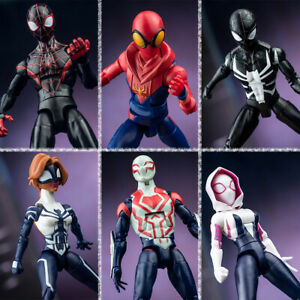 Marvel Spiderman Into the Spider Verse Legends Heroes 7in Figure Toy Kid Toy NIB