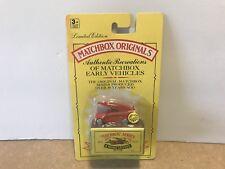 Matchbox Originals No. 9 1948 Dennis F.2 Fire Engine Moko Lesney Diecast Toys