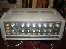 Vintage 1960's Shure Vocal Master PA Mixer Preamplifier 6 Inst/Mic Channels Nice