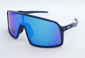 Oakley Sutro OO9406A-0437 Asian Fit Sunglasses - Matte Navy/Prizm Sapphire
