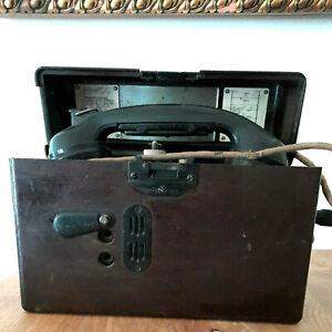 Original Feldtelefon Wehrmacht 07201/1941 Details siehe Fotos